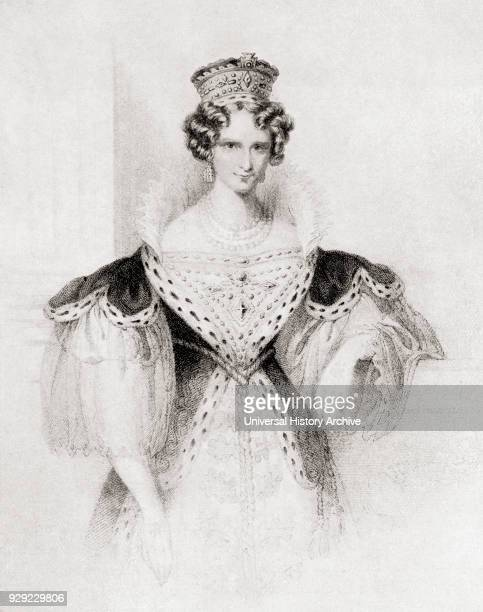 Queen Adelaide in her coronation robes Princess Adelaide of SaxeMeiningen Adelaide Amelia Louise Theresa Caroline later Queen Adelaide 1792 – 1849...