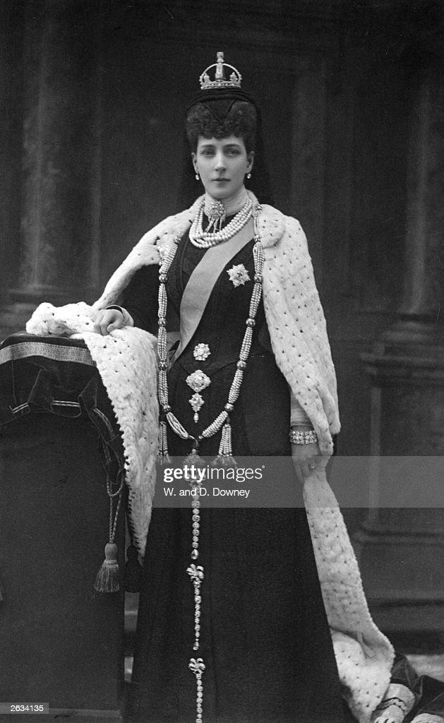Queen Alexandra : ニュース写真