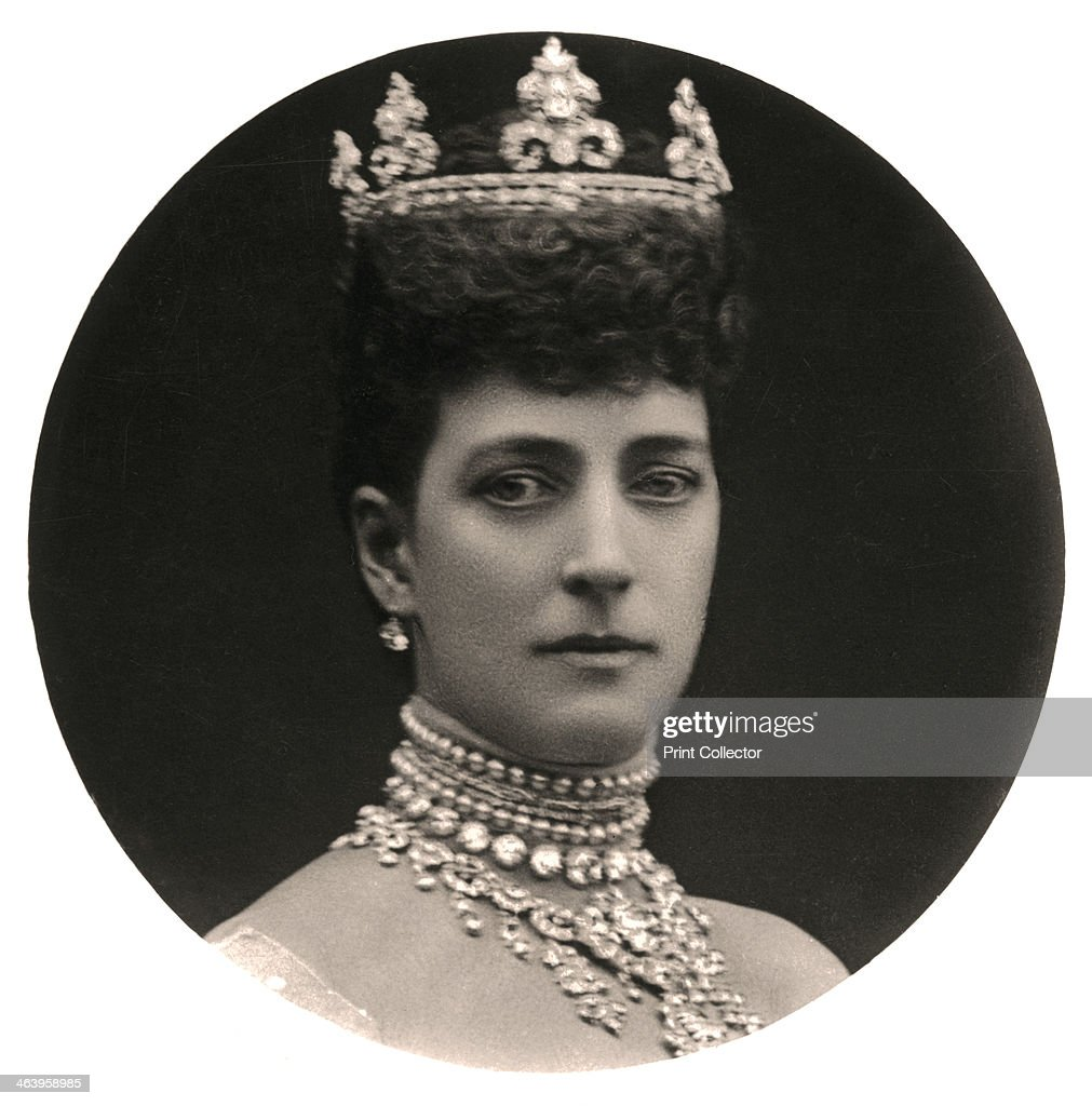 Queen Alexandra (1844-1925), queen consort to King Edward VII, late 19th century.Artist: Rotary Photo : News Photo