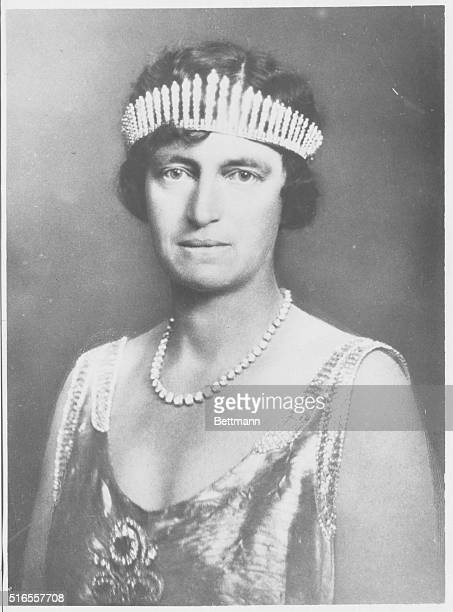 Queen Alexandrine of Denmark, , wife of Christian X, , King of Denmark, .
