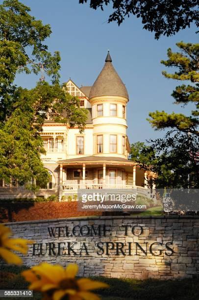 Queen Anne Mansion in Summer