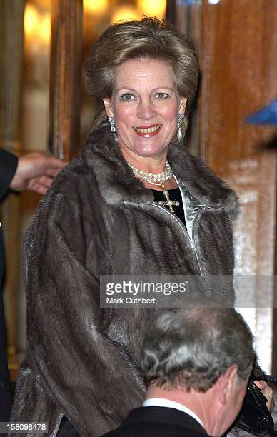 Queen Anne Marie Of Greece Attends A Party At The Ritz Hosted By The Queen To Celebrate Her Jubilee Year