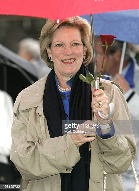 Queen Anne Marie Of Greece Attends Queen Sonja Of Norway'S 70Th Birthday CelebrationsTour The City Of Arendal