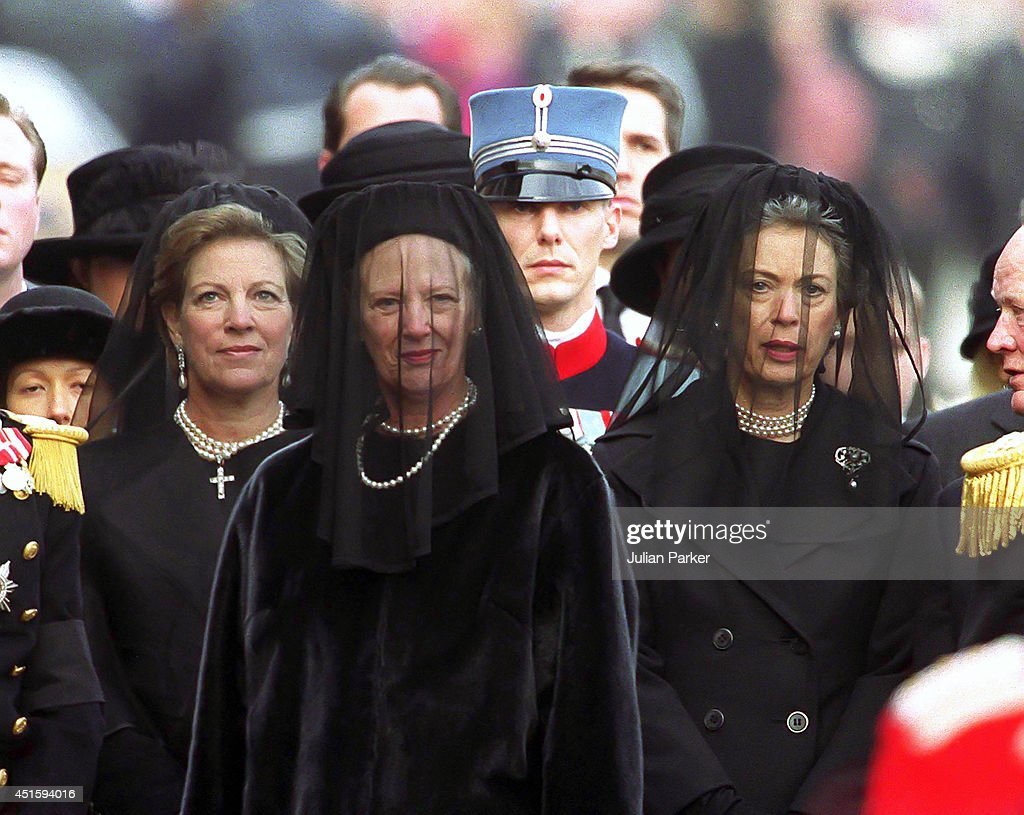 Queen Ingrid The Queen Mother of Denmark's Funeral : News Photo