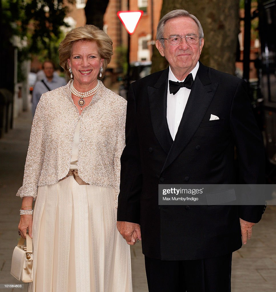 King Constantine Of Greece's 70th Birthday Party : News Photo