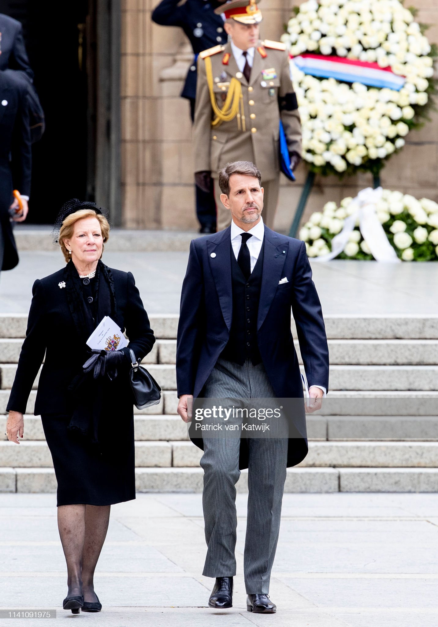 https://media.gettyimages.com/photos/queen-annemarie-of-greece-and-crown-prince-pavlos-of-greece-attend-picture-id1141091975?s=2048x2048