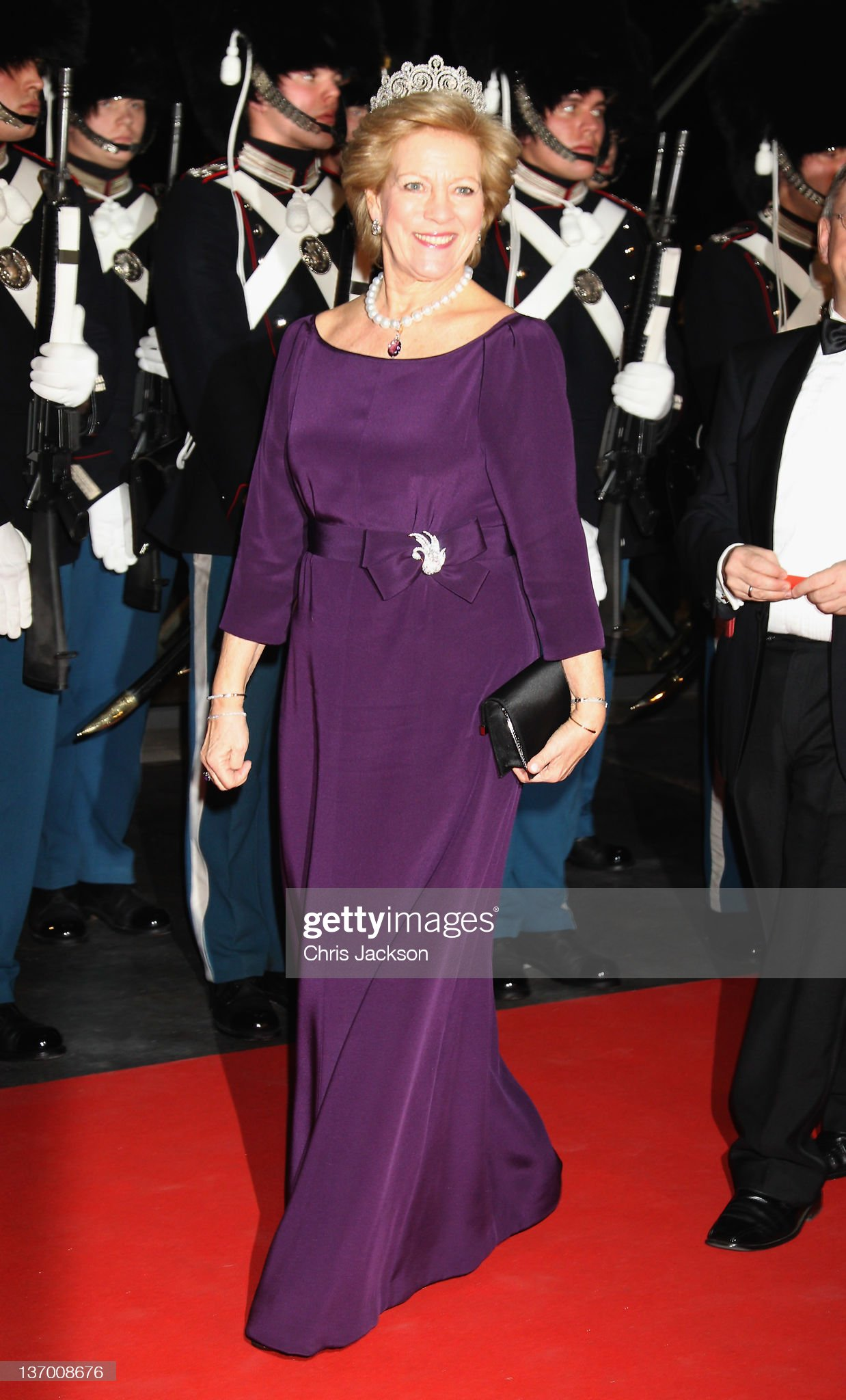 Queen Margrethe II of Denmark Celebrates 40 Years on The Throne - Gala Performance : News Photo