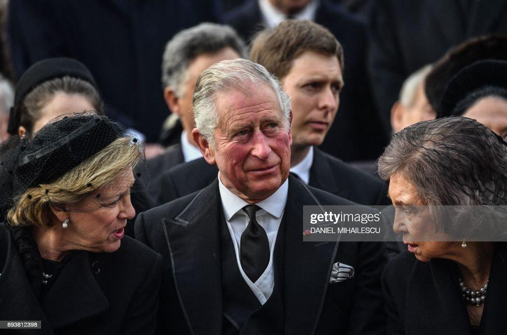 ROMANIA-KING MICHAEL-FUNERAL : News Photo