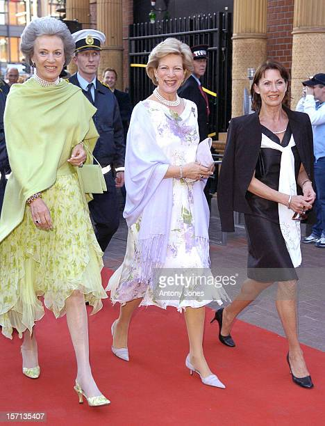 Queen AnneMarie Of Greece Princess Benedikte Of Denmark Attend A Gala Concert At The Tivoli In Copenhagen As Part Of Prince Henrik'S 70Th Birthday...