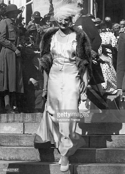 Queen Astrid Of Belgium Around 19341935