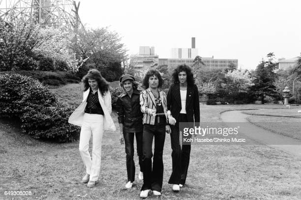 Queen at the Tokyo Prince Hotel's garden April 20th 1975