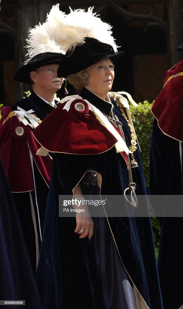 Order of the Garter ceremony : Nieuwsfoto's