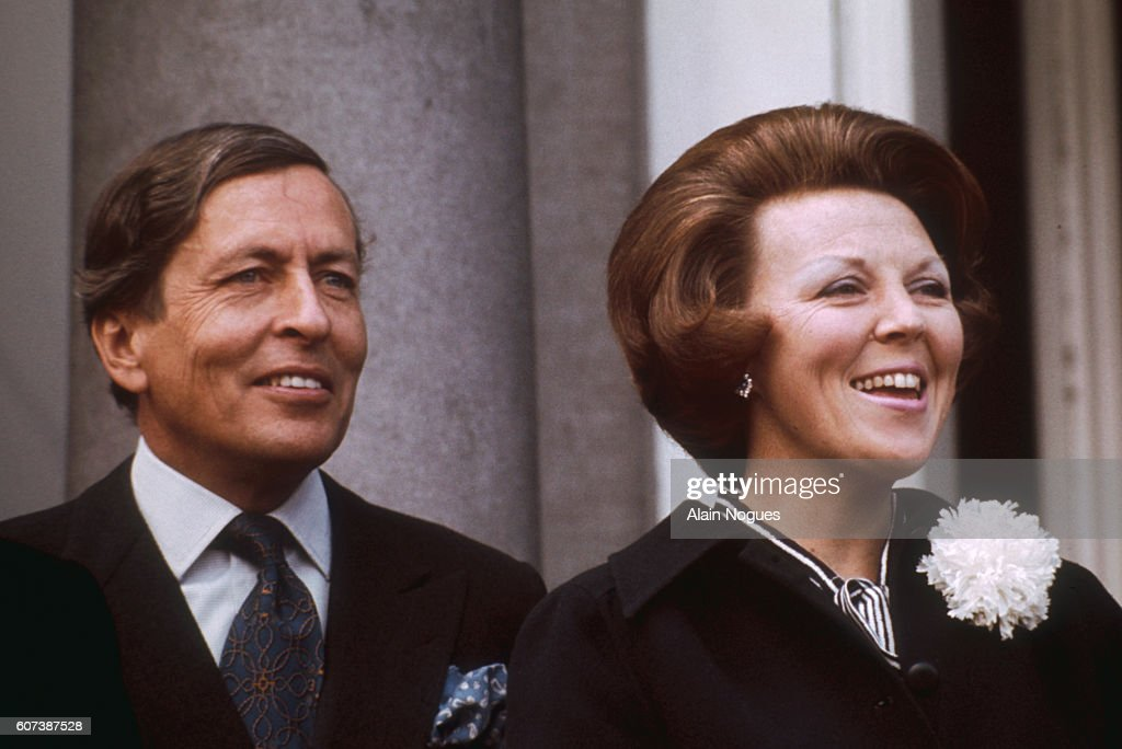 Queen Beatrix and Prince Claus : News Photo
