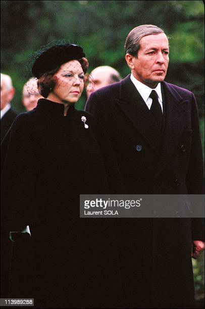 Queen Beatrix and Prince Claus of the Netherlands in Great Britain In London United Kingdom On November 17 1982Queen Beatrix and Prince Claus of the...