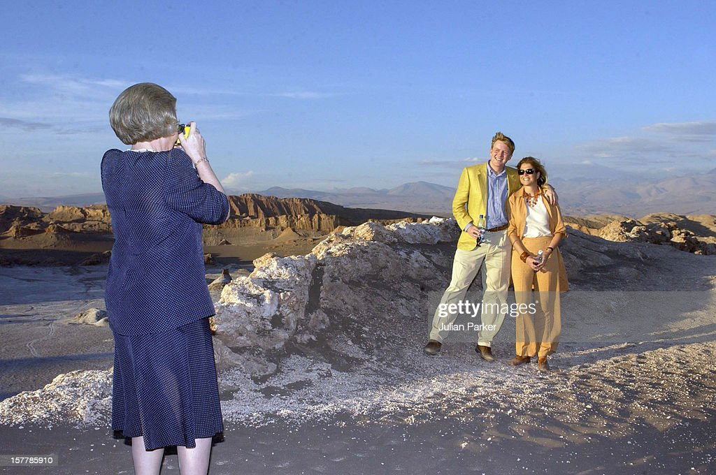 Dutch Royal State Visit To Chile : News Photo