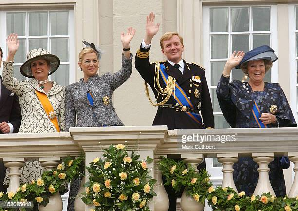 Queen Beatrix Crown Prince WillemAlexander Princess Maxima Princess Laurentien Of Holland Attend The Prinsjesdag Prince'S Day State Opening Of...