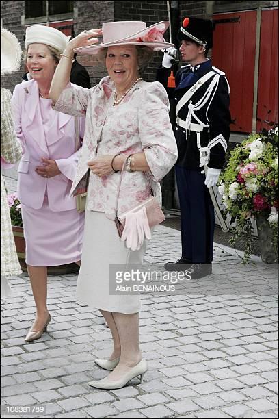 Queen Beatrix in The Hague Netherlands on June 12 2004