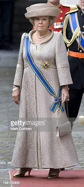 Queen Beatrix Of Holland With The Rest Of The Dutch Royal Family At Noordeinde Palace In Den Haag During The Prince'S Day Celebrations