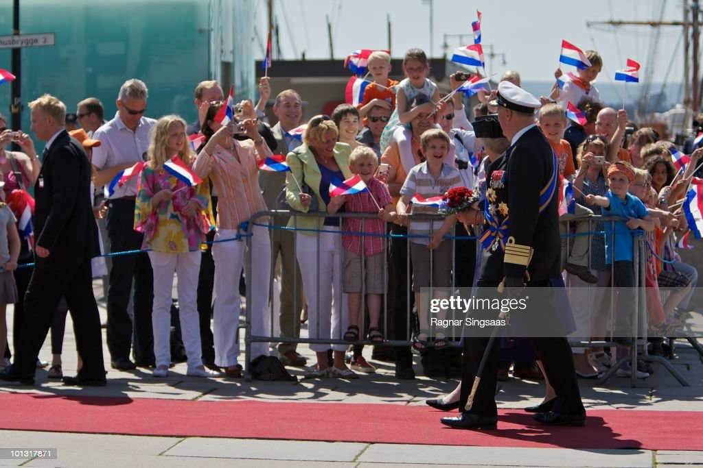 The Netherlands Royal Family State Visit To Norway : Nieuwsfoto's