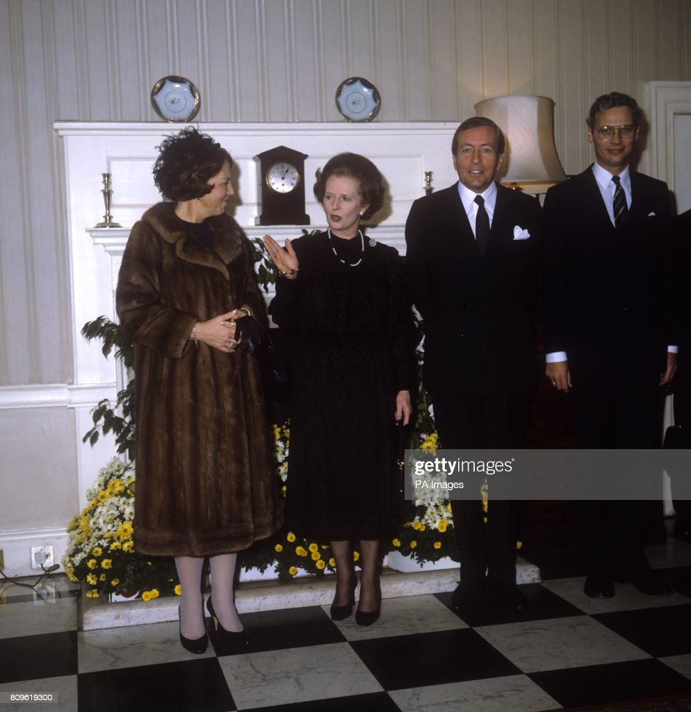 Royalty - State Visit of Queen Beatrix - 10 Downing Street : News Photo