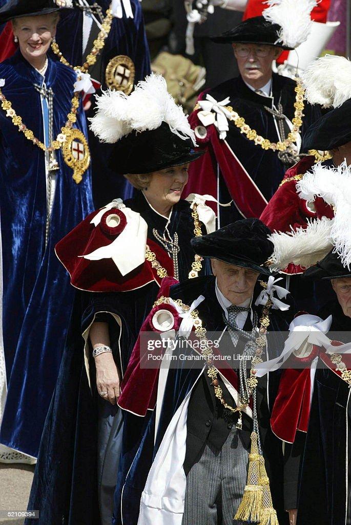 Beatrix Queen Margrethe : News Photo