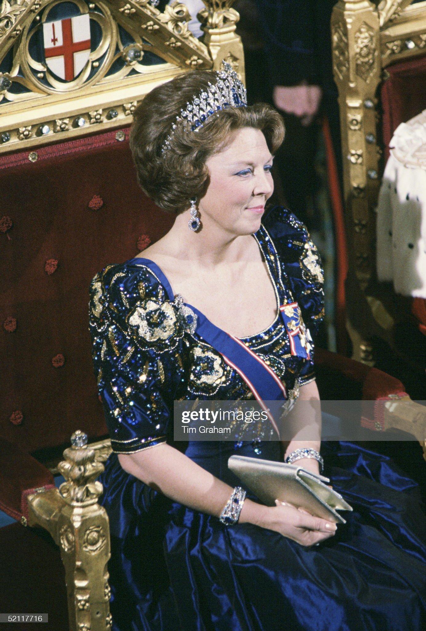 Queen Beatrix Of The Netherlands : News Photo
