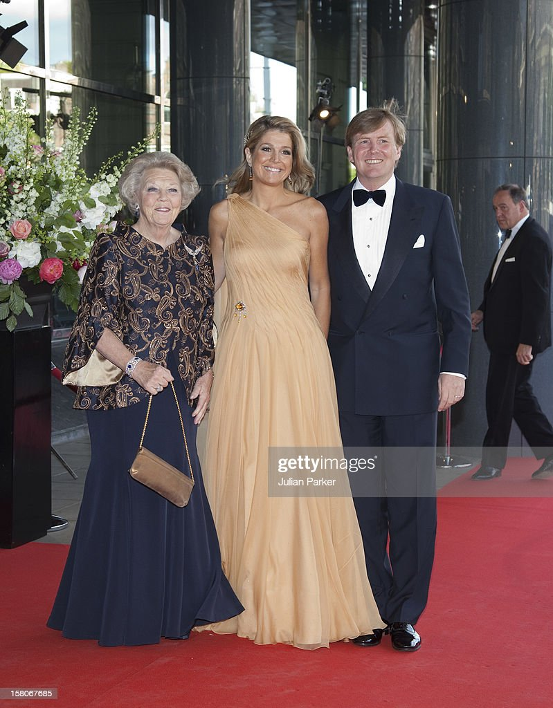 Crown Princess Maxima Of Hollands 40Th Birthday Celebrations : News Photo