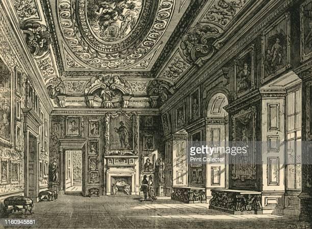 Queen Caroline's DrawingRoom Kensington Palace' circa 1876 Kensington Palace residence of the British Royal Family since 17th century Originally a...
