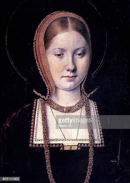 Queen Catherine of Aragon first wife of Henry VIII of England Daughter of Ferdinand and Isabella of Spain