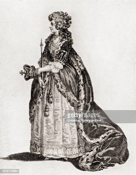 Queen Charlotte in her Coronation Robes Charlotte of MecklenburgStrelitz 1744 – 1818 Queen consort of the United Kingdom as the wife of King George...