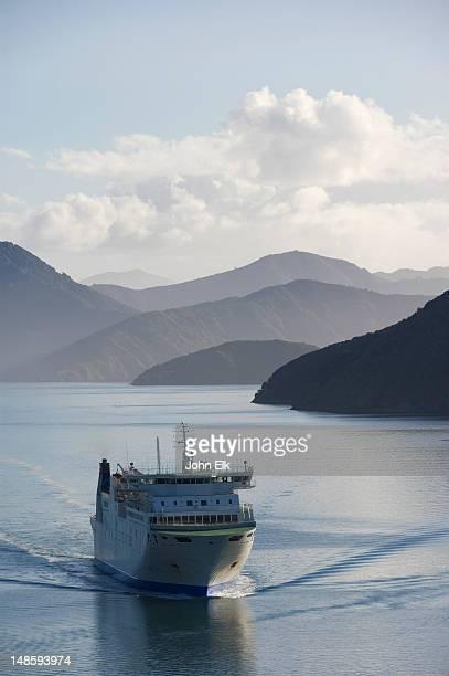 Queen Charlotte Sound ferry.