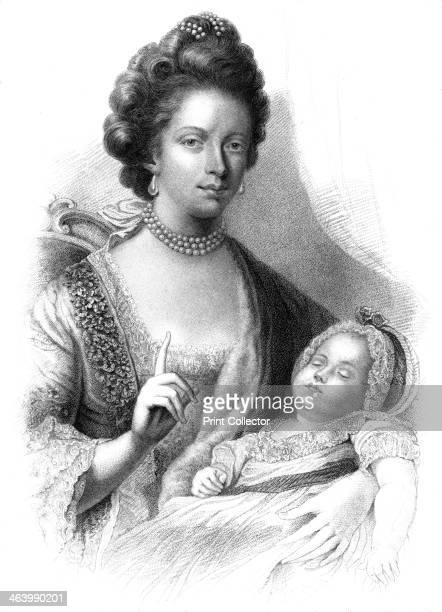 Queen Charlotte with the future King George IV 19th century King George IV was king of Great Britain and Ireland between 1820 and 1830 He had earlier...