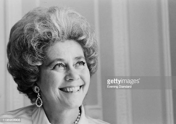 Queen consort of Greece as the wife of King Paul Frederica of Hanover , UK, 19th June 1969.
