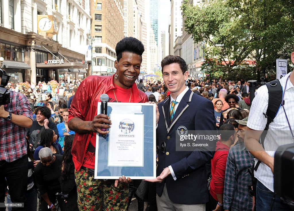 Guinness World Record And Big Freedia Twerking Event