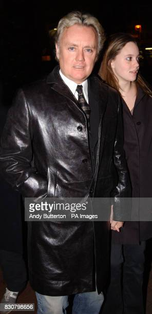 Queen drummer Roger Taylor with daughter Rory Eleanor Taylor arrive for a special charity premiere of the new musical 'Taboo' in aid of the Mercury...