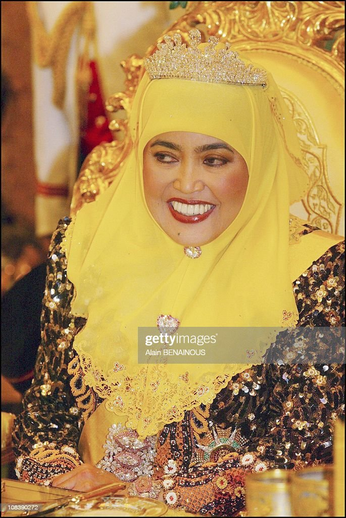 Brunei Celebrates The Fifty-Seventh Birthday Of Its Sultan Hassanal Bolkiah In Brunei Darussalam On July 01, 2003. : News Photo