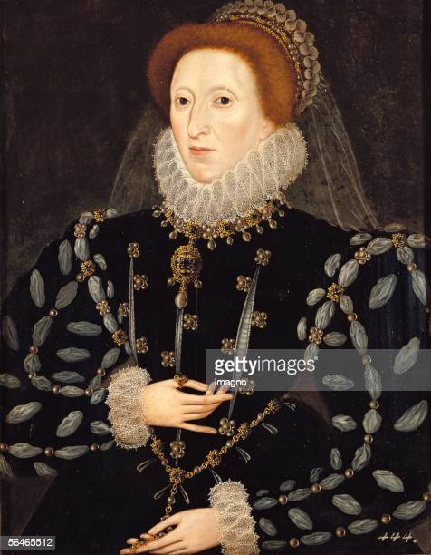 Queen Elisabeth I Around 1575 Painting by Nicholas Hilliard [Koenigin Elisabeth I von England Um 15751580 Gemaelde von Nicholas Hilliard]