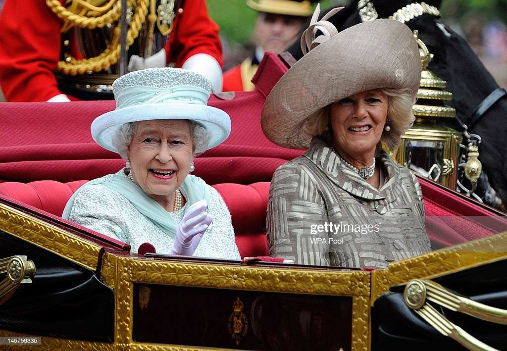 Diamond Jubilee - Carriage Procession And Balcony Appearance : ニュース写真