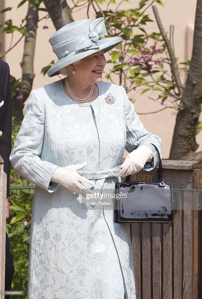 Royals At Easter Matins Service : News Photo