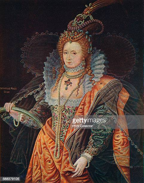 Queen Elizabeth I 16th century From Cassell's History of England Vol II