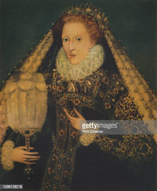 Queen Elizabeth I, circa 1580. . The last Tudor monarch, Elizabeth I ruled from 1558 until 1603. She is referred to as The Virgin Queen, as she never...