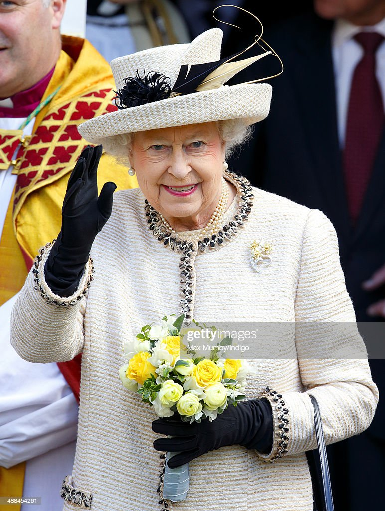 The Queen And Duke Of Edinburgh Visit Essex : News Photo