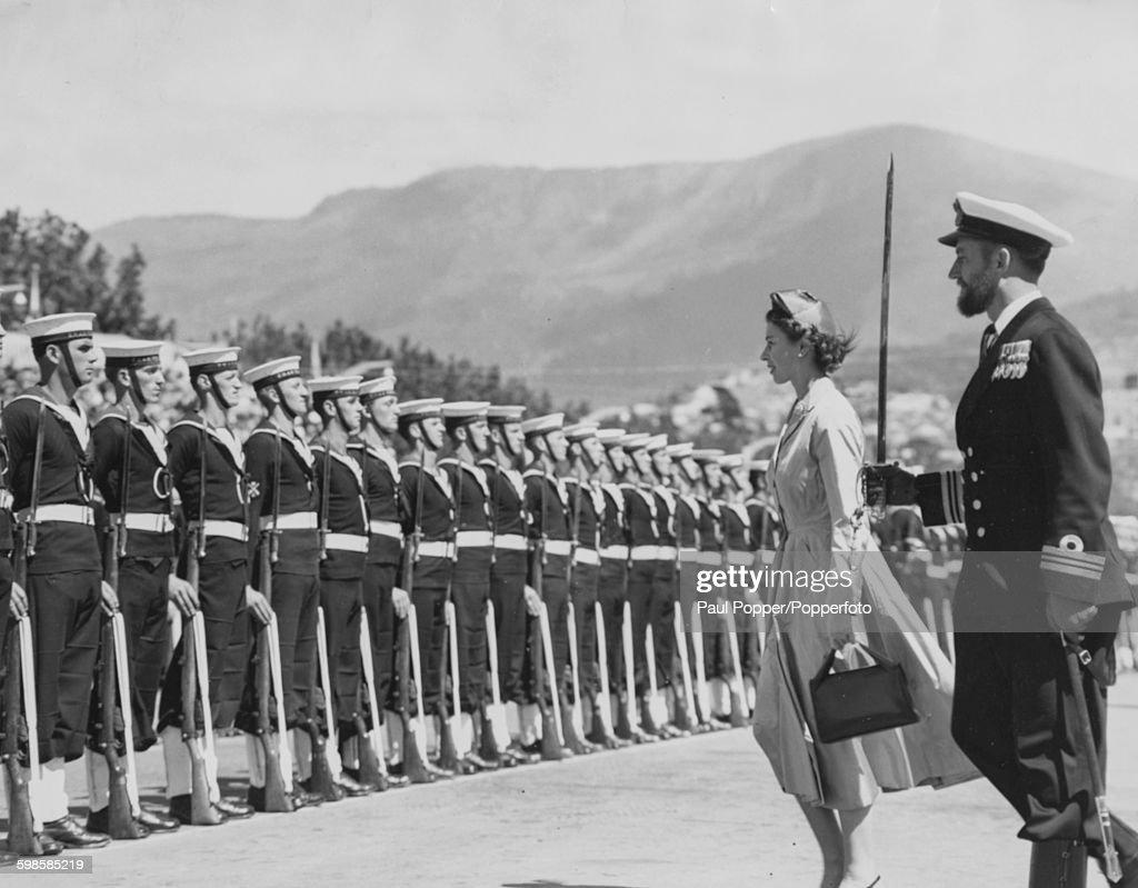 Queen Elizabeth II In Tasmania : News Photo