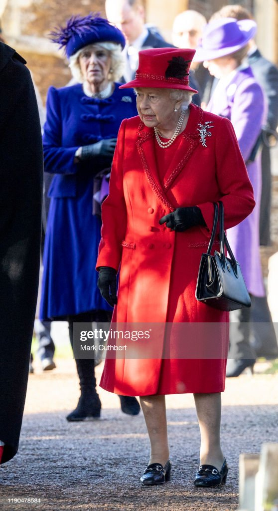 The Royal Family Attend Church On Christmas Day : ニュース写真