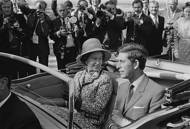Queen Elizabeth II In France