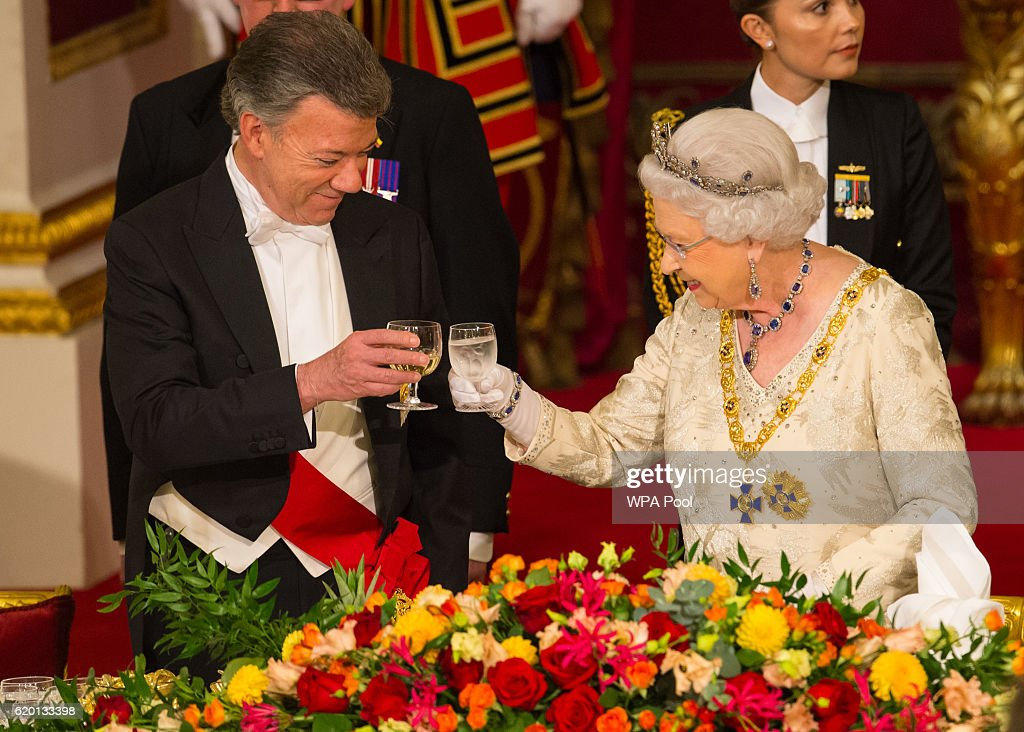State Banquet Held In Honour Of President Santos Of Colombia And Mrs Santos