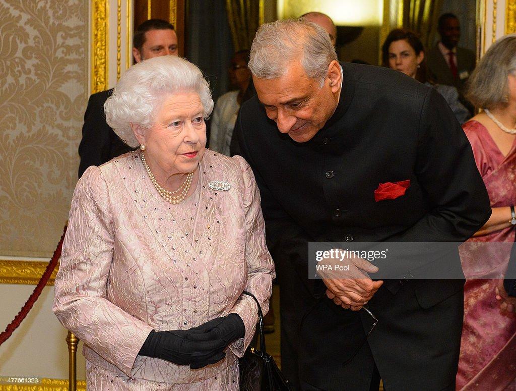 Commonwealth Reception at Marlborough House : News Photo