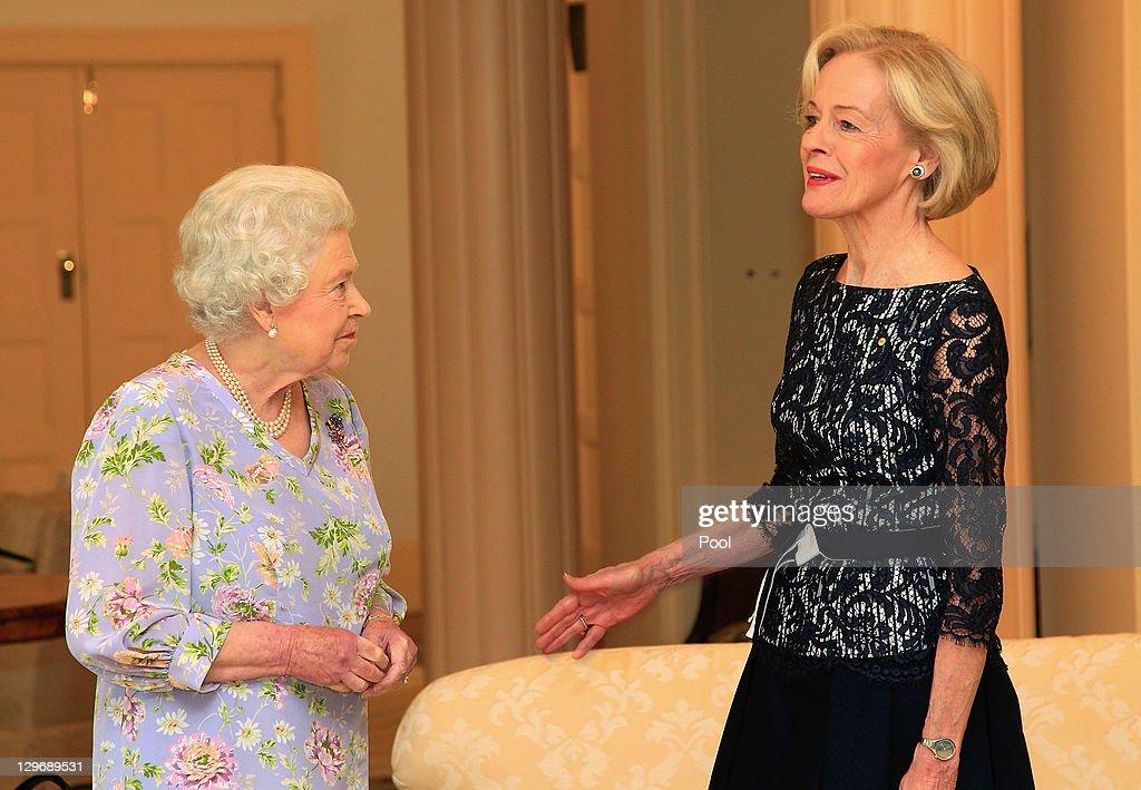 Queen Elizabeth II And Duke of Edinburgh Visit Australia - Day 2
