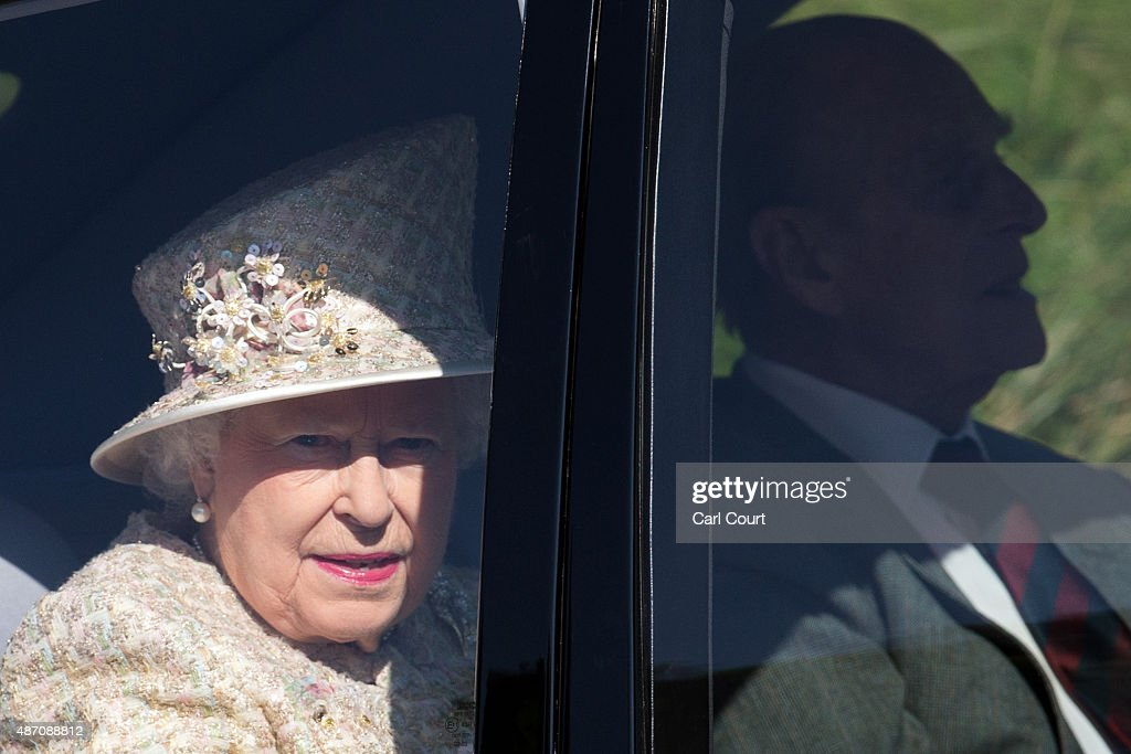 Royal Family Attend Service At Crathie Church : News Photo