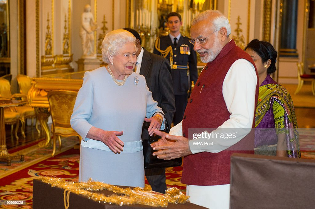 Prime Minister Of India Visits The UK : News Photo